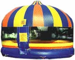 20u2032 Round Enclosed Bounce House & Bouncer Rental NW | 20u2032 Round Enclosed Bounce House
