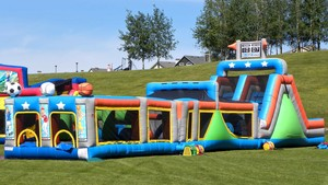 Mega All Star Obstacle Course