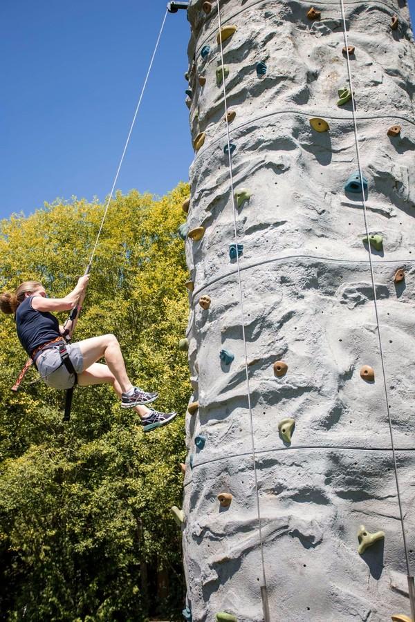 Bouncer Rental NW Mobile Climbing Wall